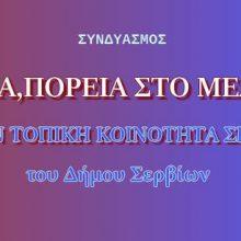 """Το ψηφοδέλτιο του συνδυασμού """"ΣΕΡΒΙΑ, ΠΟΡΕΙΑ ΣΤΟ ΜΕΛΛΟΝ"""" για την τοπική κοινότητα Σερβίων"""