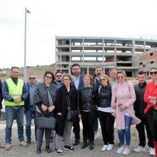 Το Πανεπιστήμιο Δυτικής Μακεδονίας, το ΤΕΙ Δυτικής Μακεδονίας και το εργοτάξιο της νέας Πανεπιστημιούπολης επισκέφθηκε ο επικεφαλής της ΕΝΟΤΗΤΑΣ Λάζαρος Μαλούτας