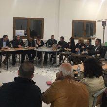 Συνάντηση του συνδυασμού «Βόιο- Υπεύθυνα Μαζί»- Σε πλήρη ετοιμότητα για τις εκλογές της 26ης Μαΐου (Φωτογραφίες)