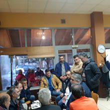 Τα συνεργεία του Δήμου Εορδαίας και της Δημοτικής Επιχείρησης Τηλεθέρμανσης επισκέφθηκε ο Παναγιώτης Πλακεντάς. Περιοδεία της «Ενωμένης Εορδαίας» στην Δημοτική Ενότητα Αγίας Παρασκευής