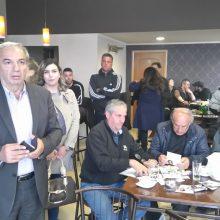 Συναντήσεις με κατοίκους στη Γαλάτεια, το Δροσερό και την Ολυμπιάδα Εορδαίας είχε  ο υποψήφιος δήμαρχος Γιάννης Καραβασίλης (Φωτογραφίες)
