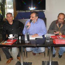 kozan.gr: Koζάνη: Γ. Αδαμίδης μέλος Κ.Ε. εκλογικού αγώνα ΣΥΡΙΖΑ σε εκδήλωση του κόμματος, παρουσία του Π. Κουρουμπλή: «Υπάρχει μια καθαρή δυνατότητα στον Αλέξη Τσίπρα να οδηγήσει τη χώρα εκεί που της αξίζει και να δώσει πίσω όσα οι προηγούμενοι έχουν πάρει. Είναι τρελό να ακούμε… αυτούς που βάλανε τη φωτιά στο δάσος να καταγγέλλουν τους πυροσβέστες» (Βίντεο & Φωτογραφίες)