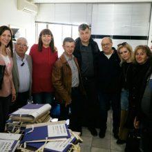 Επίσκεψη του συνδυασμού «Κοζάνη ΜΠΡΟΣΤΑ» του Ευάγγελου Σημανδράκου στις υπηρεσίες της Π.Ε. Κοζάνης, της Περιφέρειας Δυτικής Μακεδονίας και του ΕΦΚΑ (Φωτογραφίες)