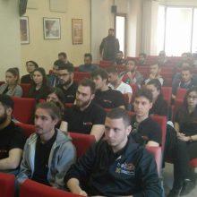 Πραγματοποιήθηκε από το Τεχνικό επιμελητήριο Ελλάδας/Τμήμα Δυτικής Μακεδονίας, βράβευση φοιτητών τμήματος Μηχανολόγων Μηχανικών Πανεπιστημίου Δυτ. Μακεδονίας για συμμετοχή τους στην ομάδα Τyφoon ΜotoRacing