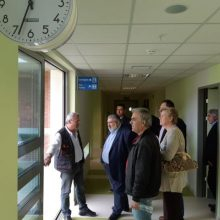Επίσκεψη του Παναγιώτη Πλακεντά στο Μποδοσάκειο Νοσοκομείο