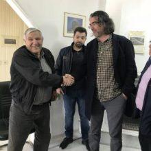 Επίσκεψη  του υποψήφιου Δημάρχου Σερβίων Χρήστου  Ελευθερίου, στις επιχειρήσεις μαρμάρου στο Τρανόβαλτο και συνάντηση στον Μορφωτικό Σύλλογο Αυλών