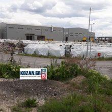 kozan.gr: Εδώ βρέθηκε, στο εργοστάσιο ανακύκλωσης της ΕΔΑΔΥΜ ΑΕ – ΔΙΑΔΥΜΑ, στο Ορυχείο Νοτίου Πεδίου, μέρος ανθρώπινου σώματος (σε προχωρημένη αποσύνθεση – Φωτογραφίες του kozan.gr αυτή την ώρα  έξω από το εργοστάσιο