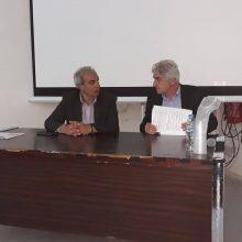 Ο υποψήφιος δήμαρχος Γιάννης Καραβασίλης, με υποψηφίους δημοτικούς συμβούλους του συνδυασμού, επισκέφτηκαν, χθες Παρασκευή 10 Μαΐου, το Μποδοσάκειο