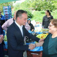 Mε επίσκεψη στην λαϊκή αγοράτης Τοπικής κοινότητας Μελίτης και ομιλία στοκοινοτικό κατάστημα συνεχίστηκε η περιοδεία του Θόδωρου Καρυπίδη στην Φλώρινα.