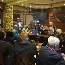 Συνάντηση είχε, χθες 12 Μαΐου, ο υποψήφιος δήμαρχος Εορδαίας  Γιάννης Καραβασίλης, με κατοίκους της Αναρράχης