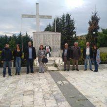 ΚΚΕ Κοζάνης:  Επίσκεψη στο  Μεσόβουνο Εορδαίας με αφορμή την 9η Μάη, ημέρα αντιφασιστικής νίκης των λαών