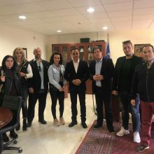"""Επίσκεψη του συνδυασμού """"Αδέσμευτοι Πολίτες του Δήμου Κοζάνης"""" στο Μαμάτσειο Νοσοκομείο Κοζάνης και στον Περιφερειάρχη Δυτικής Μακεδονίας Θεόδωρο Καρυπίδη (Φωτογραφίες)"""