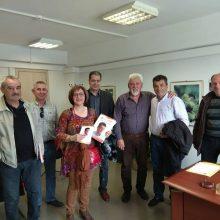 Το Διοικητήριο του Λ.Κ.Δ.Μ. επισκέφτηκε o υποψήφιος δήμαρχος Εορδαίας Στάθης Κοκκινίδης