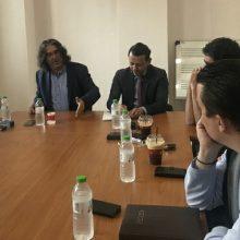 Επίσκεψη του υποψήφιου δημάρχου Σερβίων Χρήστου Ελευθερίου στην Κοινωφελή Επιχείρηση του Δήμου