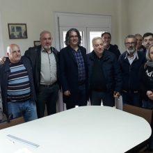 Την Δευτέρα 13 Μαΐου ο υποψήφιος Δήμαρχος Σερβίων Χρήστος Ελευθερίου επισκέφθηκε τα γραφεία του ΤΟΕΒ στα Σέρβια