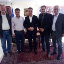 Συνάντηση υποψηφίου δημάρχου Εορδαίας Στάθη Κοκκινίδη με τον Περιφερειάρχη Δυτικής Μακεδονίας κ. Καρυπίδη Θεόδωρο