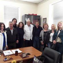 Φωτογραφίες από επισκέψεις της υποψήφιας Δήμαρχου Δήμου Σερβίων Σπυρίδου Λαζαρίτσας