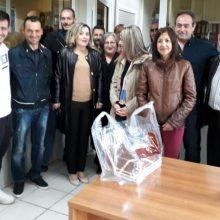 Επισκέψεις της Αθηνάς Τερζοπούλου σε επιχειρήσεις της περιοχής