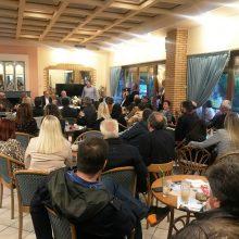 Φωτογραφίες από την ομιλία του υποψηφίου Δημάρχου Γρεβενών και Επικεφαλής του συνδυασμού «Μαζί συνεχίζουμε» κ. Δημοσθένη Κουπτσίδη στους Γρεβενιώτες της Κοζάνης