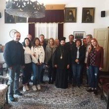 Επισκέψεις στα εμπορικά καταστήματα της Σιάτιστας και την Ιερά Μητρόπολη Σισανίου και Σιατίστης πραγματοποίησε ο επικεφαλής του Συνδυασμού «Ενεργοί Πολίτες» Δημήτριος Κοσμίδης