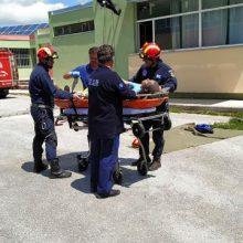 Με μεγάλη επιτυχία πραγματοποιήθηκε σήμερα 17/5, στο 3ο Γυμνάσιο Κοζάνης άσκηση διαχείρισης σεισμικού κινδύνου