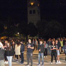 kozan.gr: Πραγματοποιήθηκε το βράδυ της Παρασκευής 17/5, στην κεντρική πλατεία Κοζάνης, το Μαθητικό Φεστιβάλ της ΚΝΕ  (Φωτογραφίες)
