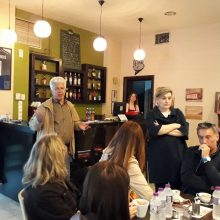 """Η Αθηνά Τερζοπούλου στον Πολιτιστικό Σύλλογο Καρδιάς """"Η Μέρα"""""""