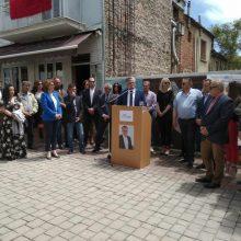 Το Σάββατο 18/5 πραγματοποιήθηκε η ομιλία του υποψήφιου δημάρχου Χρήστου Ζευκλή στην κεντρική πλατεία της Εράτυρας (Φωτογραφίε)