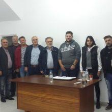 Συναντήσεις με συλλόγους της πόλης των Σερβίων είχε ο Βασίλης Κωνσταντόπουλος: «Θα επαναφέρουμε τις πολιτιστικές δραστηριότητες του καλοκαιριού, η Αποκριά θα ενισχυθεί, όλοι οι σύλλογοι θα ενισχυθούν οικονομικά και θα φροντίσουμε να στεγαστούν»