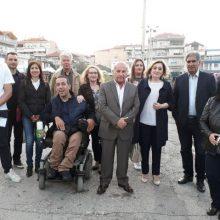 Η  υποψήφια Δημάρχος Εορδαίας Αθηνά  Τερζοπούλου-Τζινιέρη  στην Ανθοκομική Έκθεση
