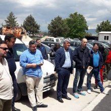 Στα συνεργεία της ΔΕΥΑΕ ο Παναγιώτης Πλακεντάς: Επίσκεψη στην Τοπική Κοινότητα Προαστίου (Φωτογραφίες)