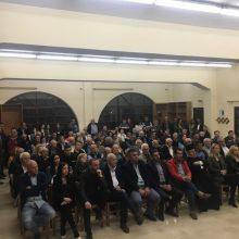Ο Λάζαρος Γκερεχτές στη Γαλατινή: «Έχουμε αποδείξει την αποτελεσματικότητά μας»