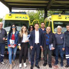 Συνεχίζονται οι επισκέψεις του υποψήφιου Δημάρχου Κοζάνης Φώτη Κεχαγιά (Φωτογραφίες)