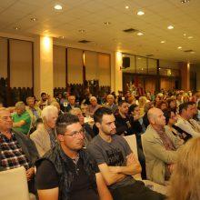 kozan.gr: Μεγάλο ενδιαφέρον των πολιτών για τον πολιτικό διάλογο μεταξύ των υποψηφίων Δημάρχων Βελβεντού (Στεργίου – Τέτου), που πραγματοποιήθηκε το βράδυ της Τετάρτης 22/5 στο Μετόχι (Φωτογραφίες)