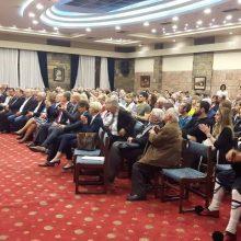 Η κεντρική ομιλία του υποψήφιου Περιφερειάρχη Δυτικής Μακεδονίας Γ. Κασαπίδη, στην Καστοριά