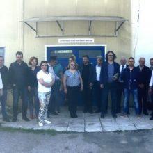 Επίσκεψη του συνδυασμού ΓΕΦΥΡΑ ΣΤΟ ΜΕΛΛΟΝ,στο ελαιοτριβείο του Αγροτικού συνεταιρισμού Ιμέρων