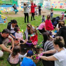 Διαμόρφωση εξωτερικού χώρου του παιδικού σταθμού του σχολείου της χαράς (Κοινωφελής επιχείρησης Κοζάνης)