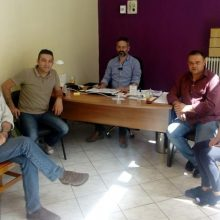 Αντιπροσωπεία του ΔΣ της Ένωσης Σ.Π.Ε.ΚΟΖ., συναντήθηκε με τον Δήμαρχο Κοζάνης, Λ. Ιωαννίδη