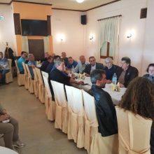 Με επιτυχία ολοκληρώθηκε η συνάντηση του υποψήφιου δημάρχου Βοΐου Χρήστου Ζευκλή, με τους προέδρους των κοινοτήτων του Τσοτυλίου