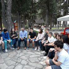 Μια φρέσκια συζήτηση νέων ανθρώπων με τον Λευτέρη Ιωαννίδη (Φωτογραφίες)