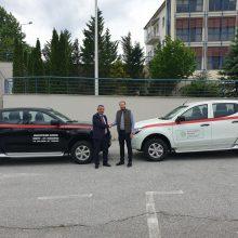 Δωρεά οχημάτων του Διαδριατικού Αγωγού Φυσικού Αερίου (TAP AG)  στην Αποκεντρωμένη Διοίκηση Ηπείρου – Δυτικής Μακεδονίας