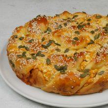 To Foodaholics.gr προτείνει τυρόπιτα φόρμας με ζύμη γιαουρτιού #2