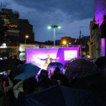 kozan.gr: Υπό βροχή διεξήχθη, το βράδυ της Παρασκευής 31/5, στην κεντρική πλατεία της Κοζάνης, η κεντρική ομιλία του Λ. Ιωαννίδη (40 Φωτογραφίες)