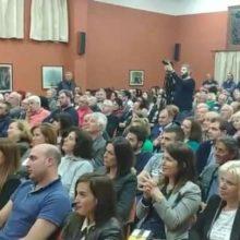 Η κεντρική ομιλία του Χρήστου Ζευκλή στη Σιάτιστα (Φωτογραφίες)