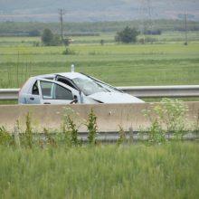 kozan.gr: Τροχαίο ατύχημα στην Εγνατία Οδό, λίγο μετά το Δρέπανο, στο ύψος του οικισμού της Γαλάνης (Βίντεο)