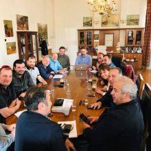 Oι φωτογραφίες και το σημερινό μήνυμα του Δημάρχου Κοζάνης Λευτέρη Ιωαννίδη
