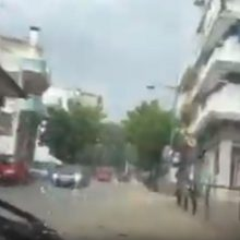 kozan.gr: Kοζάνη: Xωρίς προβλήματα μετά την έντονη μεσημεριανή βροχόπτωση – Σημεία, με μικρές «λιμνούλες», επί της οδού Παύλου Μελά (Βίντεο)