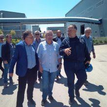 kozan.gr: Κλιμάκιο της ΓΣΕΕ με τον Πρόεδρο Γιάννη Παναγόπουλο & τον Πρόεδρο του Εργατικού Κέντρου Πτολεμαΐδας Αναστάσιο Τσιλφίδη επισκέφτηκε σήμερα Πέμπτη 6/6 το εργοστάσιο ανακύκλωσης της ΕΔΑΔΥΜ ΑΕ – ΔΙΑΔΥΜΑ καθώς και το Ορυχείο του Νότιου πεδίου της ΔΕΗ (Φωτογραφίες)
