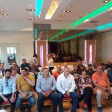 kozan.gr: Πτολεμαΐδα: Στοιχεία για την ελληνική οικονομία και την απασχόληση, παρουσιάστηκαν σε ενημερωτική εκδήλωση, το απόγευμα της Πέμπτης 6/6, από εκπροσώπους της ΓΣΕΕ παρουσία του Προέδρου Γιάννη Παναγόπουλου (Φωτογραφίες & Βίντεο)