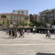 kozan.gr: Σε γήπεδο μπάσκετ, για αγώνες 3Χ3, μετατράπηκε η κεντρική πλατεία Κοζάνης  (Φωτογραφίες & Βίντεο)